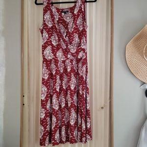 Lands End knee length dress